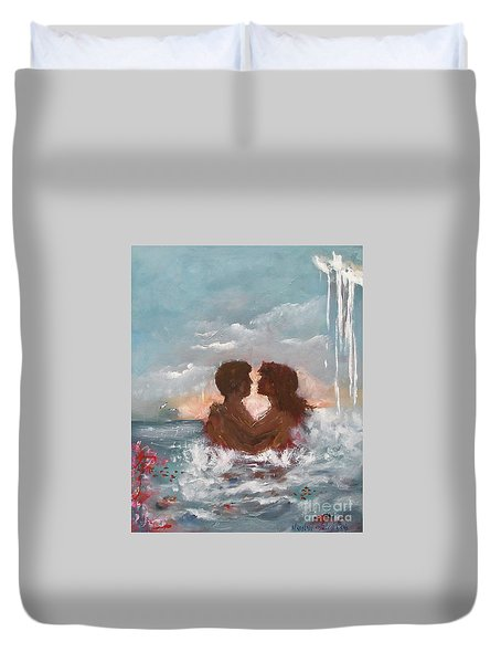 Lovers Duvet Cover