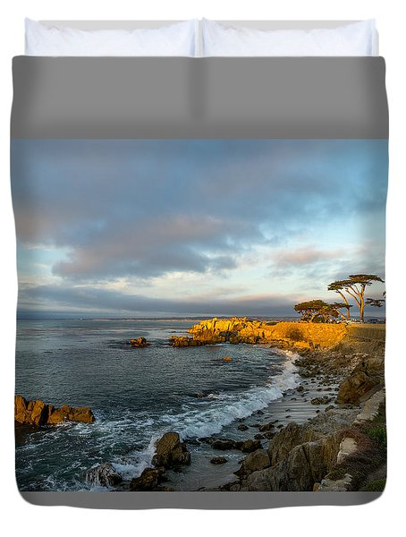 Lover's Point Duvet Cover by Derek Dean