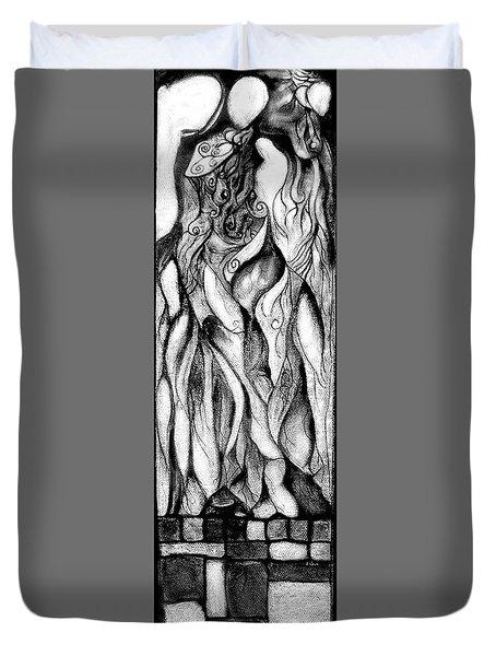 Loves Pedestal Duvet Cover