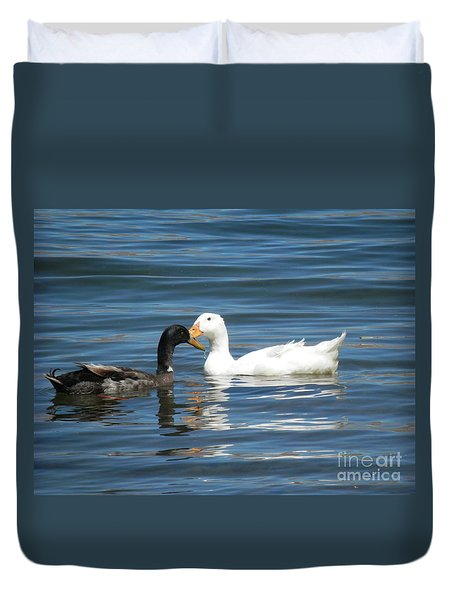 Loves Simple Way Duvet Cover