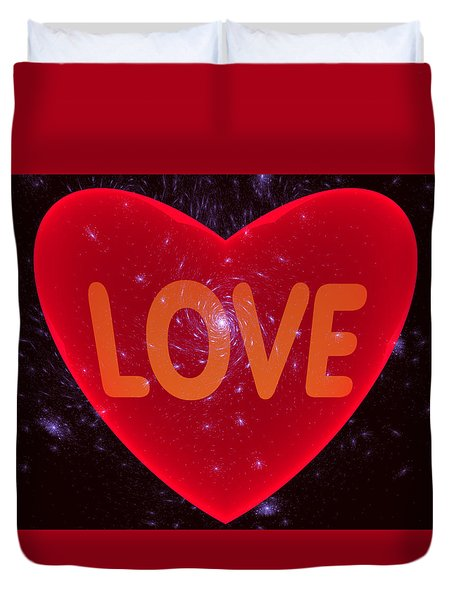 Loving Heart Duvet Cover