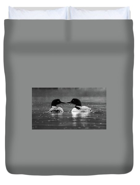 Loving Loons Duvet Cover