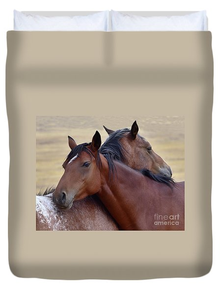 Loving One Another Duvet Cover