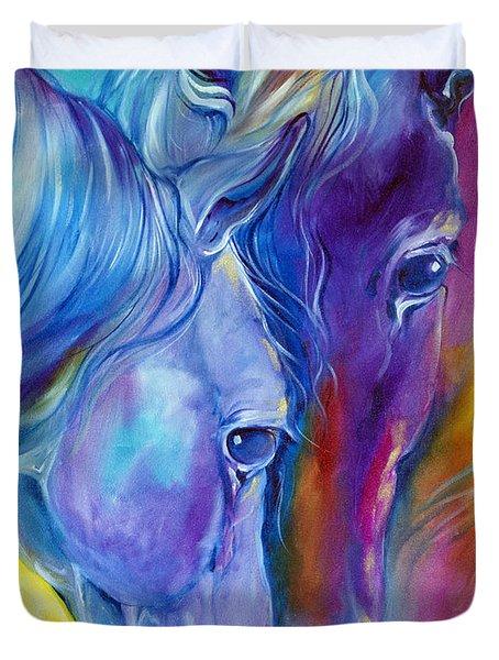 Loving Spirits Duvet Cover