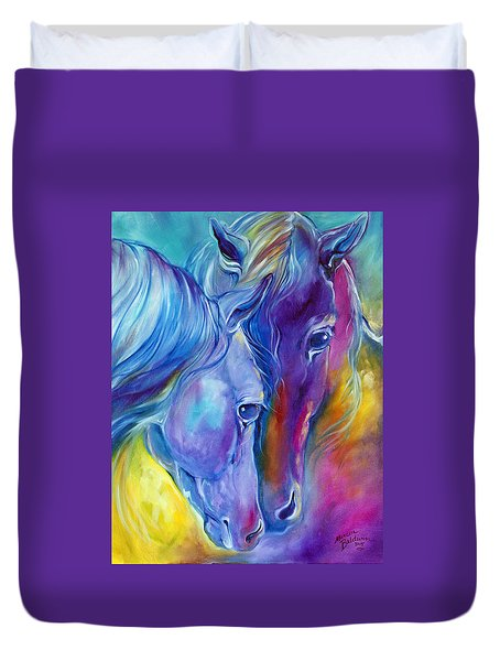 Loving Spirits Duvet Cover