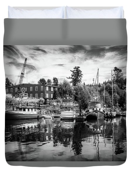 Lovric's Sea Craft Washington Duvet Cover