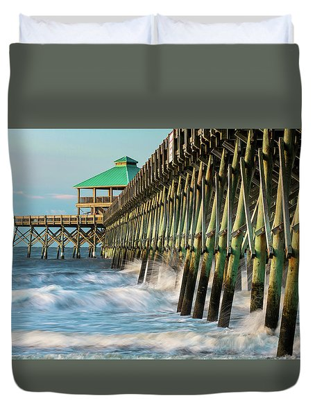 Low Country Landmark Duvet Cover