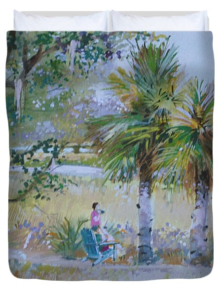 Low Country Duvet Cover