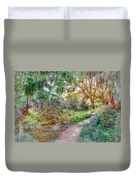 Low Country Walk Duvet Cover