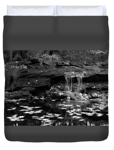 Low Falls Duvet Cover by Jeff Severson