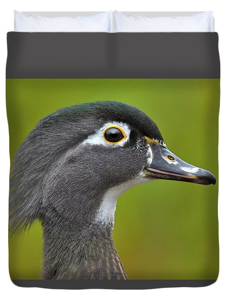 Duvet Cover featuring the photograph Low Key by Tony Beck
