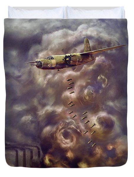 Low Level Attack Duvet Cover