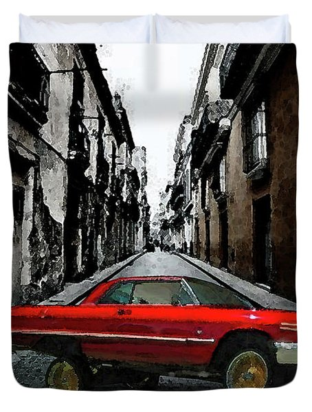 Low Rider Duvet Cover by Monday Beam
