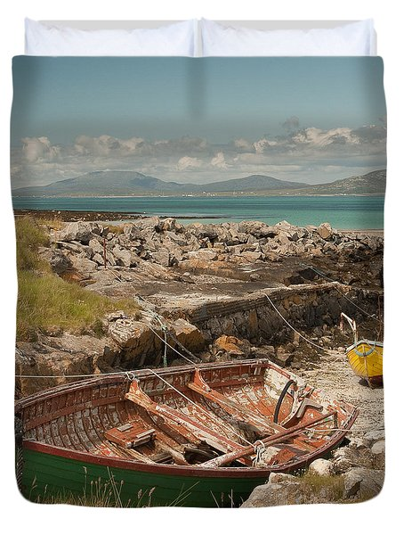 Low Tide Duvet Cover