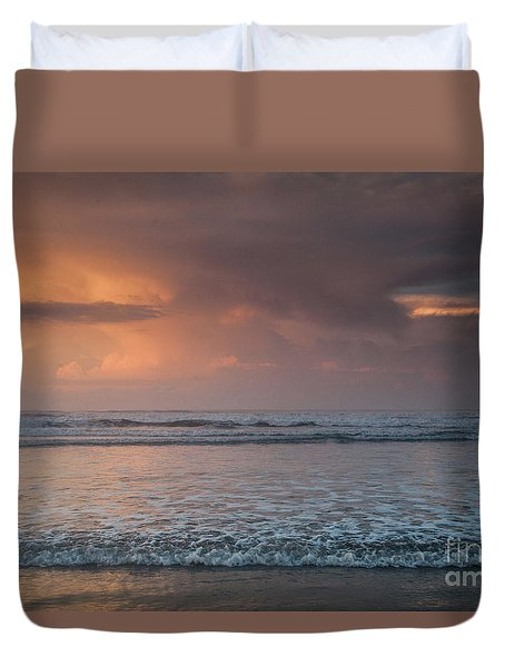Low Tide  Duvet Cover by Iris Greenwell