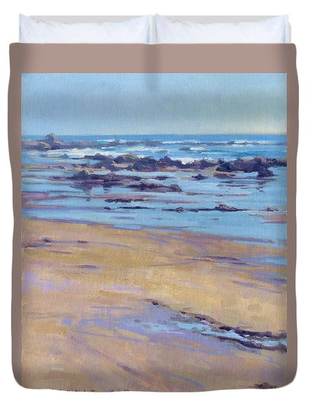 Low Tide / Crystal Cove Duvet Cover