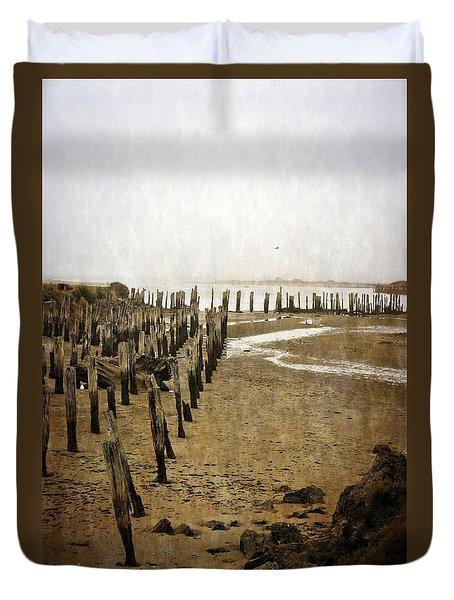 Low Tide Oregon Coast 2.0 Duvet Cover
