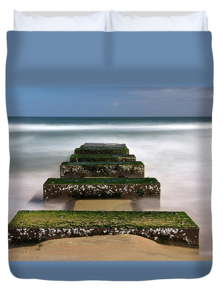 Low Tide Reveal Duvet Cover