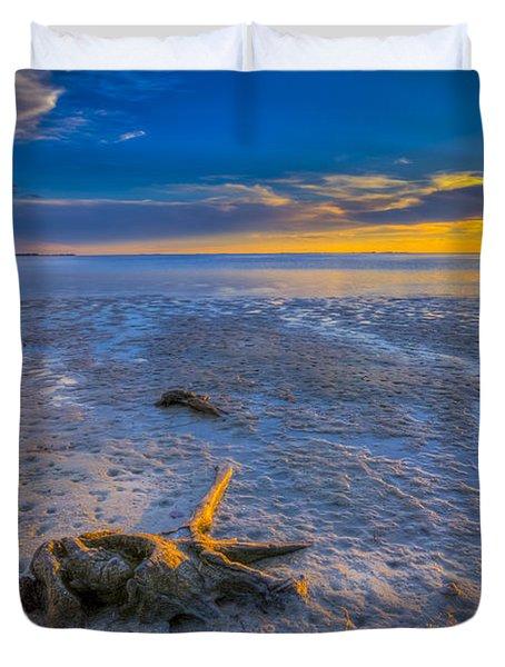 Low Tide Stump Duvet Cover