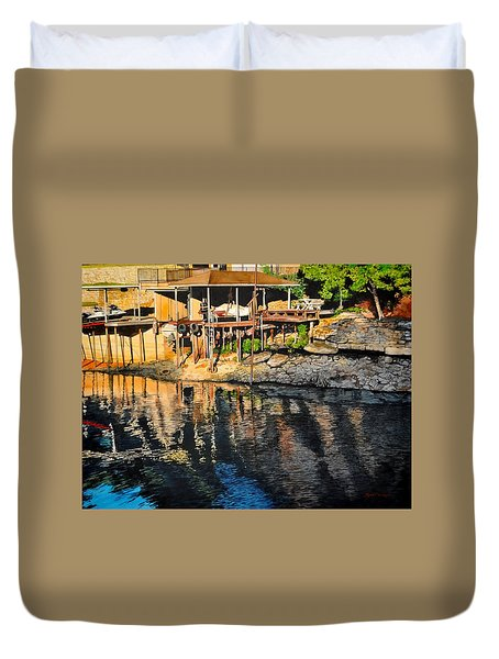 Low Water Duvet Cover
