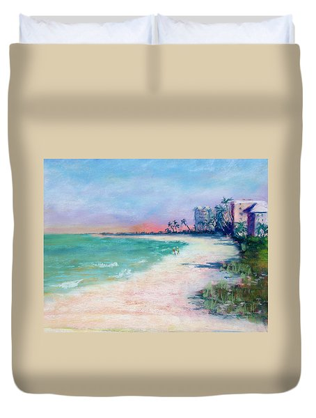 Lowdermilk Park North Duvet Cover by Laurie Paci