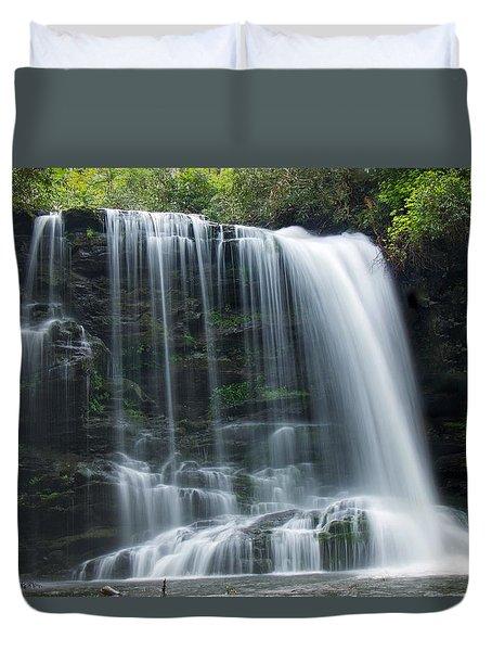 Lower Bearwallow Falls Duvet Cover