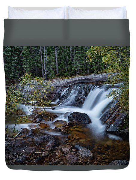 Lower Copeland Falls Duvet Cover