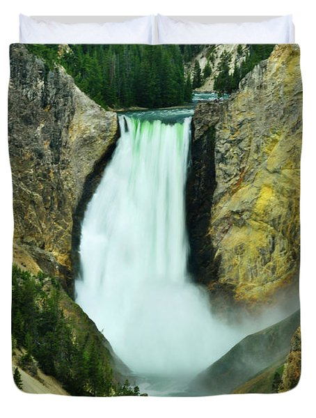 Lower Falls No Border Or Caption Duvet Cover