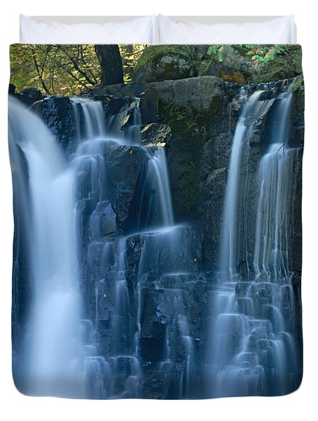 Lower Johnson Falls 2 Duvet Cover