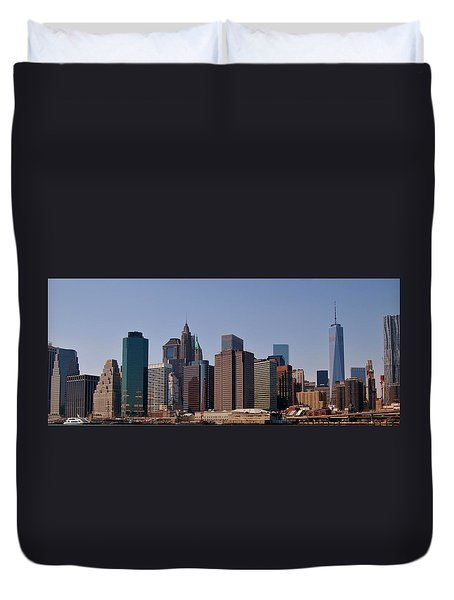 Lower Manhattan Nyc #2 Duvet Cover