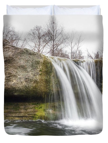 Lower Mckinney Falls Duvet Cover