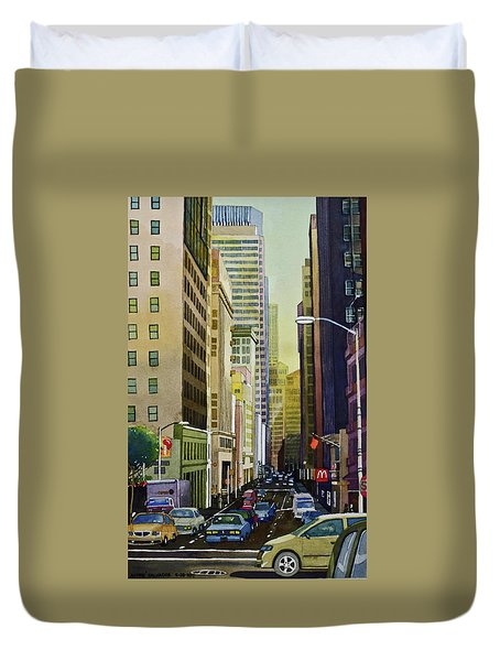 Lower Pine Street Duvet Cover