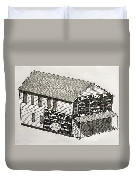 Lowe Brothers Hardware  Duvet Cover