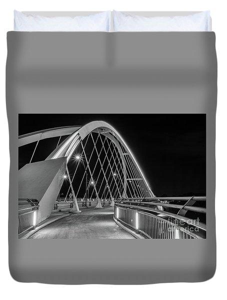 Lowry Avenue Bridge Duvet Cover