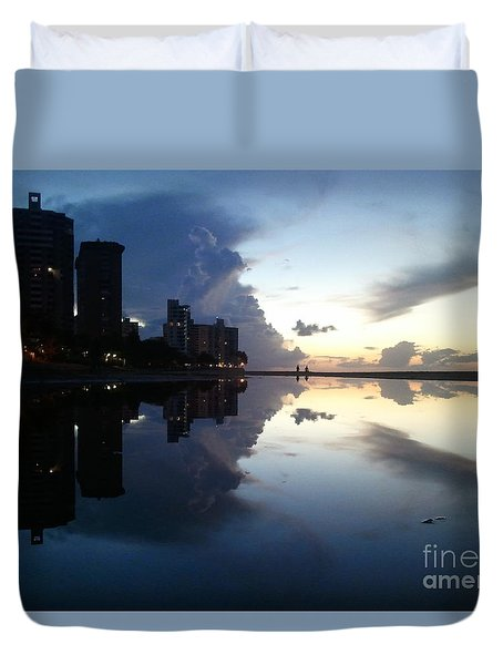 Loyda's Point Of View Duvet Cover