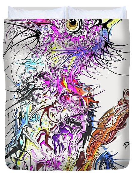 Lsd Bird 2 Duvet Cover