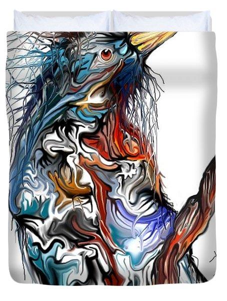 Lsd Bird Duvet Cover