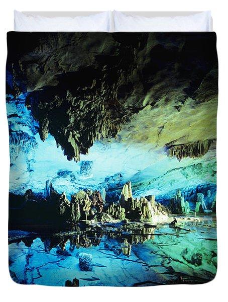 Lu Di Cave Duvet Cover by Rita Ariyoshi - Printscapes