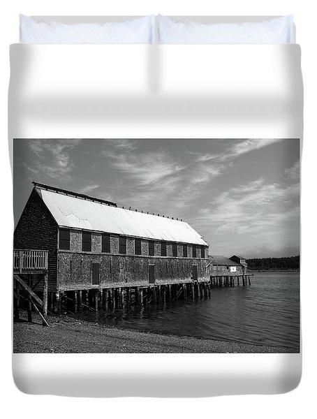 Lubec, Maine Duvet Cover