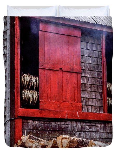 Lubec Smokehouse Duvet Cover