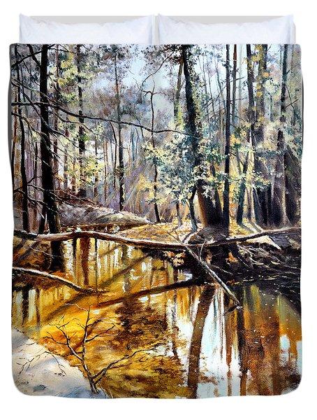 Lubianka-2-river Duvet Cover