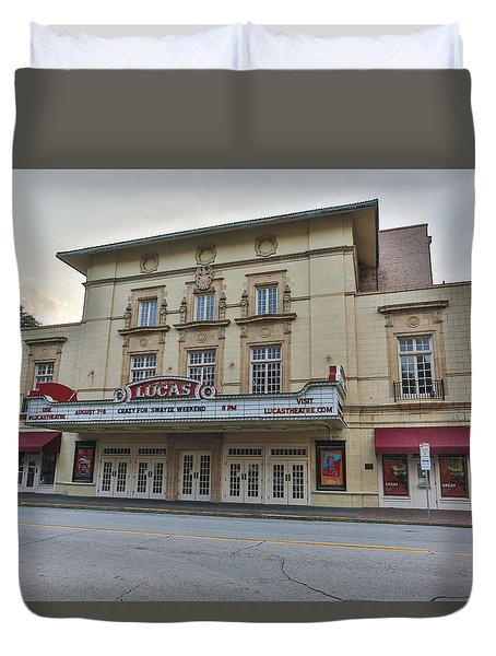 Lucas Theatre Savannah Ga Duvet Cover