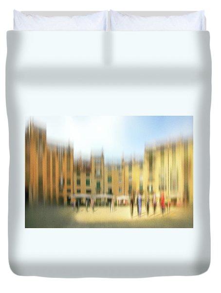 Lucca Ampitheatre Impression 1 Duvet Cover