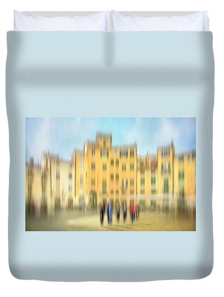 Lucca Ampitheatre Impression 2 Duvet Cover