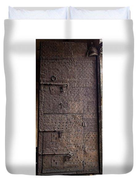 Lucca Portal Duvet Cover