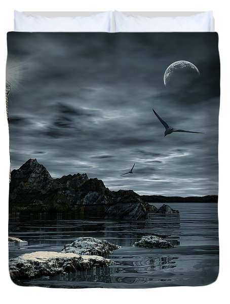 Lucent Dimness Duvet Cover by Lourry Legarde