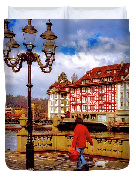 Lucerne Spring Duvet Cover