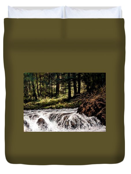 Lucia Falls In July Duvet Cover