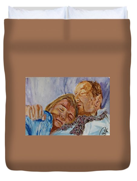 Lucian And Kate IIi Duvet Cover by Bachmors Artist
