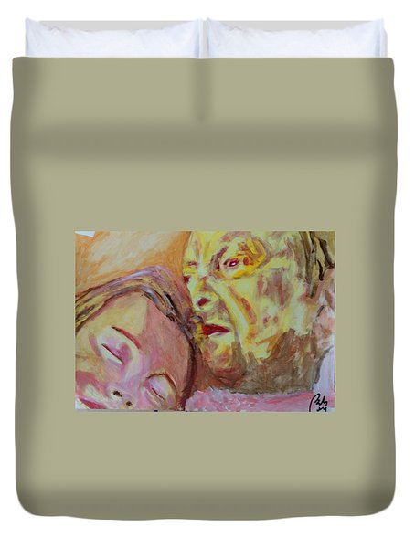 Lucian And Kate V Duvet Cover by Bachmors Artist